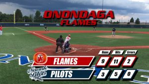 Flames Use Five-Run Eighth Inning to Win Sixth Straight