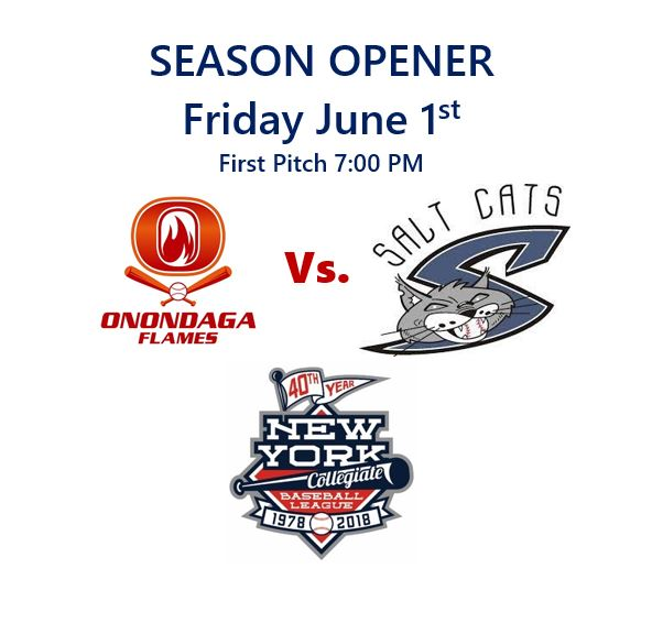 Flames Open Against Salt Cats June 1st
